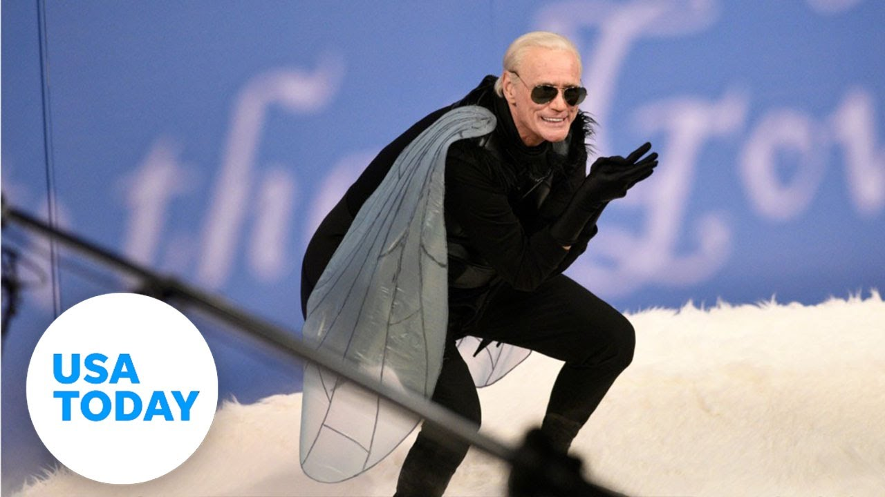 SNL makes Jim Carrey's Biden a fly on Mike Pence's head | USA TODAY 6