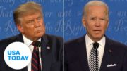 Biden, Trump fact checked on COVID-19, violence, campaigning   USA TODAY 4