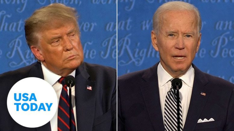 Biden, Trump fact checked on COVID-19, violence, campaigning   USA TODAY 1