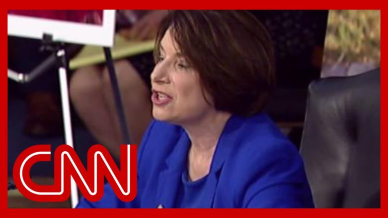 'Let me tell you a political secret ...' Klobuchar blasts hearing 1