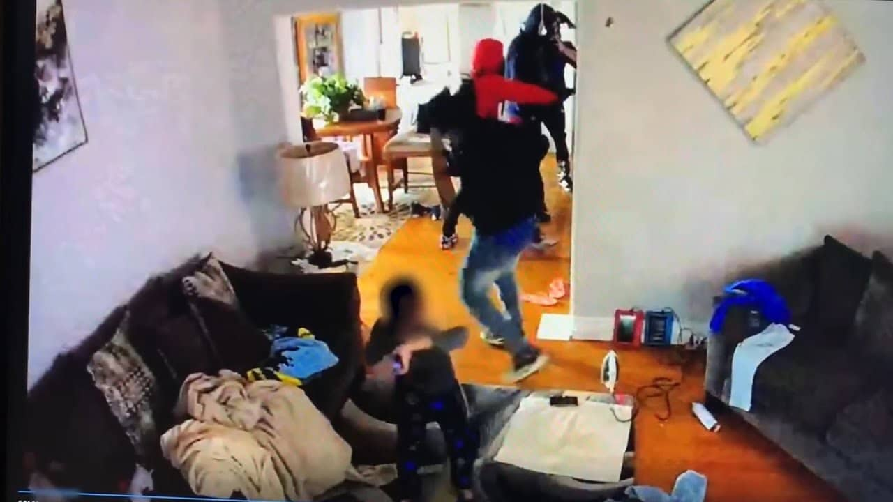 Indiana police release video showing a 5-year-old tackling armed gunman during home invasion 8