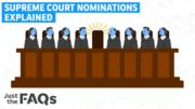 How a Supreme Court justice gets nominated, confirmed, opposed and filibustered | Just The FAQs 2