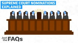 How a Supreme Court justice gets nominated, confirmed, opposed and filibustered | Just The FAQs 3