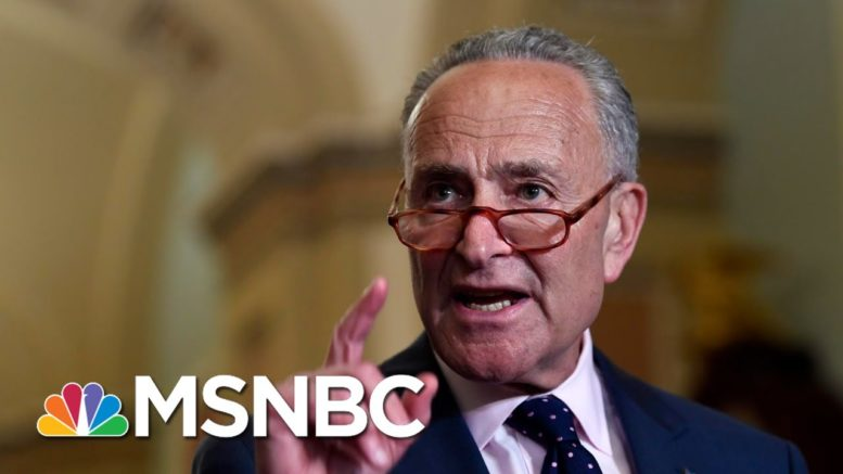 Sen. Schumer: GOP Is Rushing SCOTUS Nomination Through | Morning Joe | MSNBC 1
