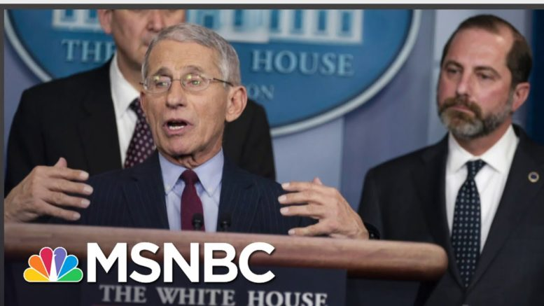 Hypocrisy 101: Ex-Covid Task Force Official On Trump Ad Using Fauci Out Of Context | All In | MSNBC 1