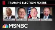 Here Are Some Of The People Trying To Help Trump Sabotage The Election | All In | MSNBC 4