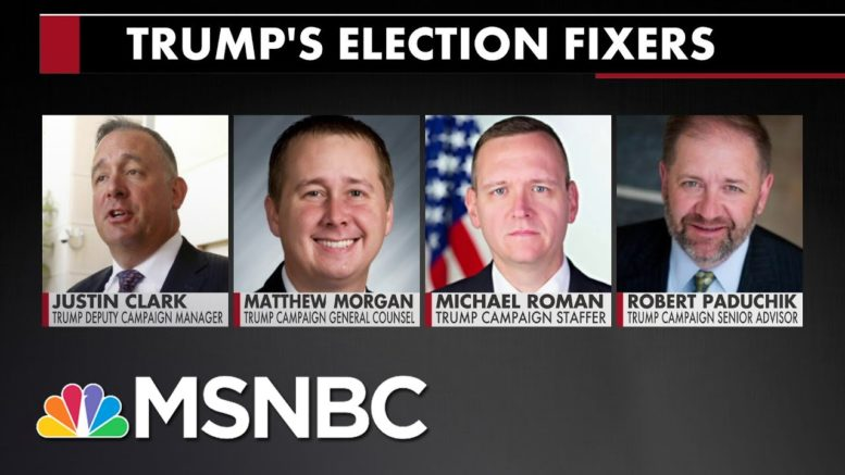 Here Are Some Of The People Trying To Help Trump Sabotage The Election   All In   MSNBC 1
