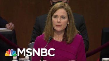 'Sham!': Trump SCOTUS Pick Faces Tough Obamacare Test In Middle Of Pandemic | MSNBC 6
