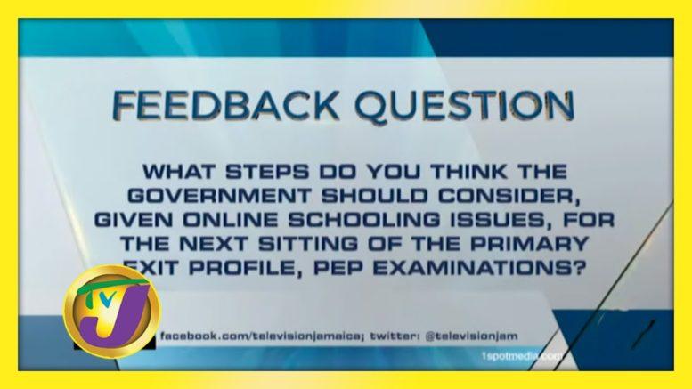 TVJ News: Feedback Question - October 9 2020 1