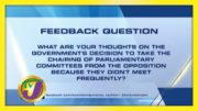 TVJ News: Feedback Question - September 30 2020 2