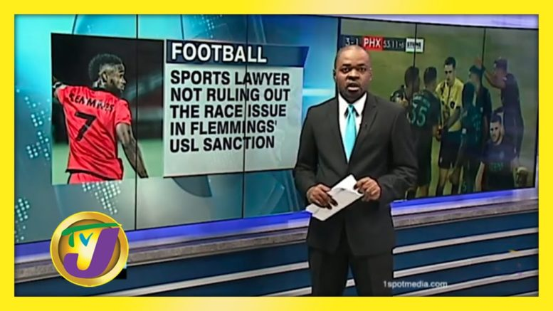 Sports Lawyer not Ruling out Race Issue in Flemmings' USL Sanction - October 10 2020 1