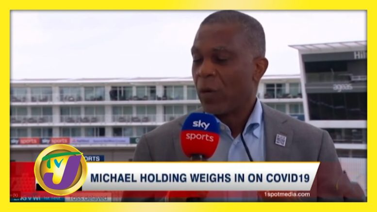 Michael Holding Weighs in on Covid - October 11 2020 1