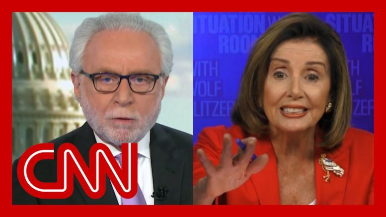 Pelosi interview gets heated: You don't know what you're talking about 1
