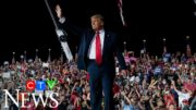 Trump hits campaign trail, holds rallies after negative test 5