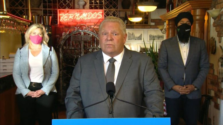 Doug Ford responds to those who think COVID-19 is a 'hoax' 1