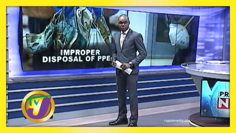 Improper Disposal of PPE's, Environmental Crisis - September 30 2020 1
