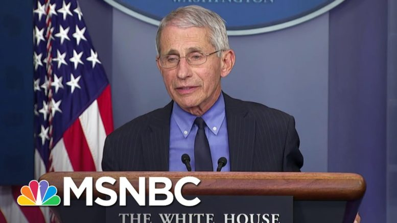 Fauci Calls Out Team Trump For Using Him Out Of Context In Ad | The 11th Hour | MSNBC 1