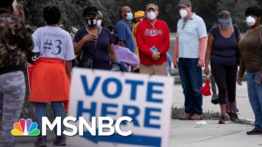 Georgia Officials Claim Voter Enthusiasm Is Behind Hours-Long Lines | The 11th Hour | MSNBC 6
