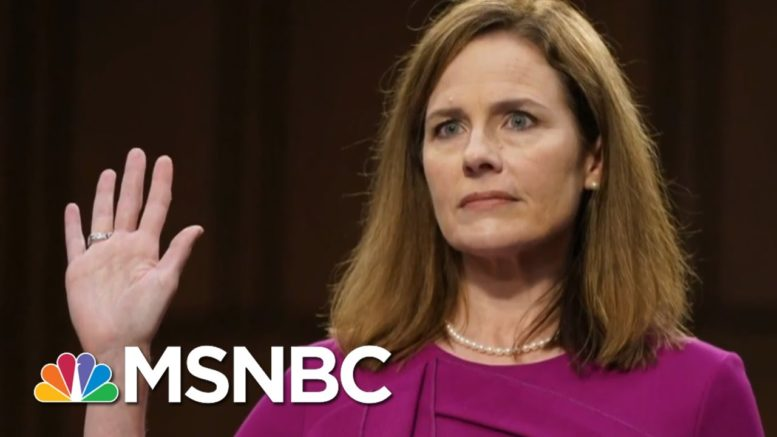 Both Parties On Message At Confirmation Hearings | Way Too Early | MSNBC 1