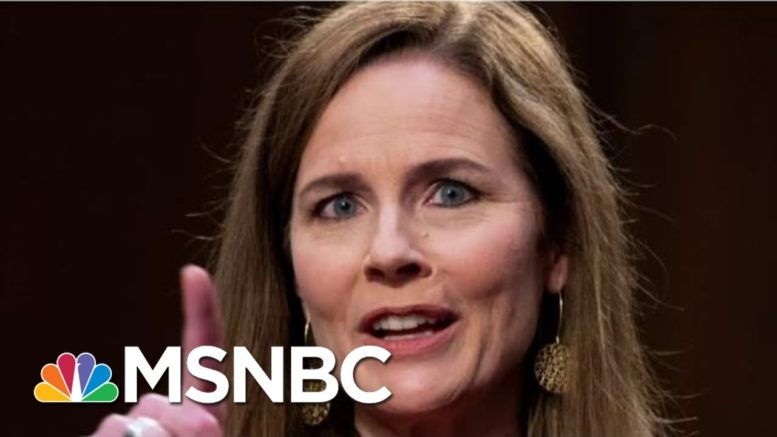 Amy Coney Barrett Uses The Ginsburg Rule 'Very Carefully' On Day Two Of SCOTUS Confirmation Hearing 1