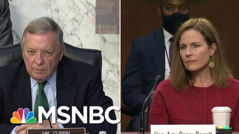 Sen. Dick Durbin: No Ongoing Committee By Democrats To 'Reform The Judiciary' | MTP Daily | MSNBC 1