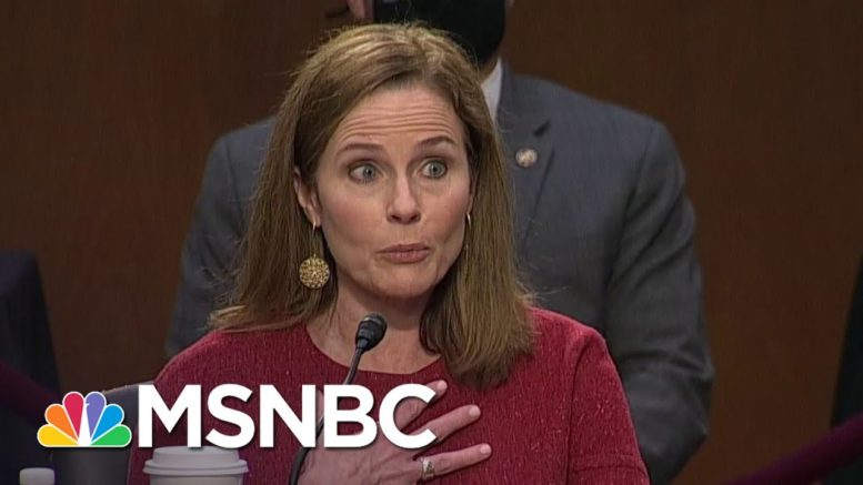 Barrett Apologizes For Comments On Sexual 'Preference' | MSNBC 1
