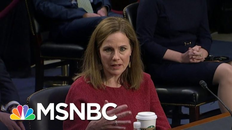 Amy Coney Barrett Refuses To Answer Whether Presidents Should Commit To A Peaceful Transfer Of Power 1