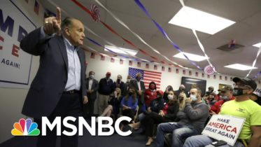 Rudy Giuliani On Covid-19: 'People Don't Die Of This Disease Anymore' | All In | MSNBC 6