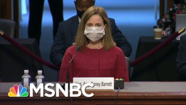 Chris On Why Republicans Are Trying To Ram Through Amy Coney Barrett | All In | MSNBC 6