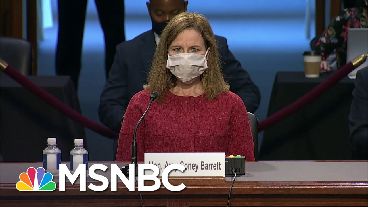 Chris On Why Republicans Are Trying To Ram Through Amy Coney Barrett | All In | MSNBC 1