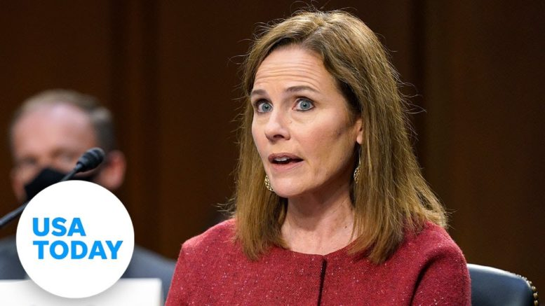 Amy Coney Barrett says racism persists in America, cites George Floyd | USA TODAY 1