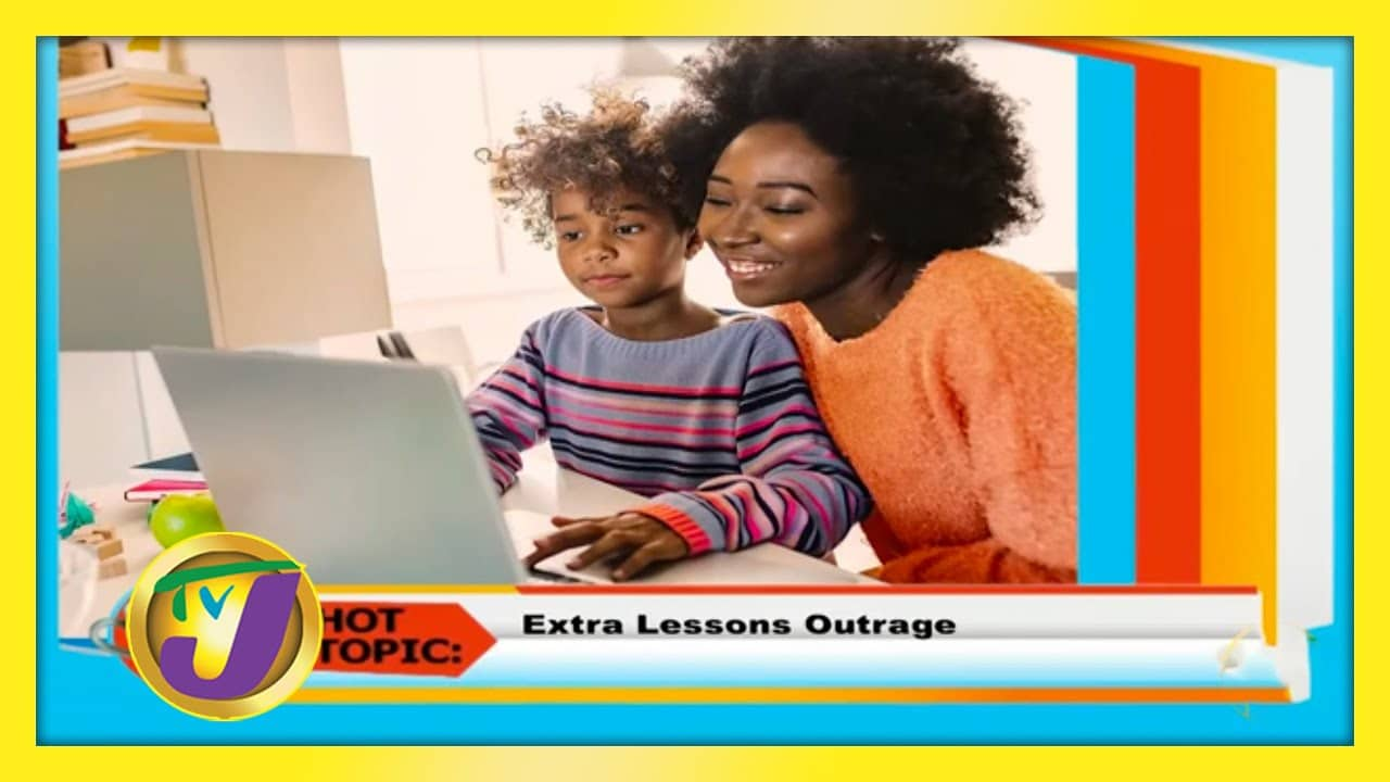 Extra Lessons Outrage: TVJ Smile Jamaica - October 12 2020 1