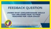 TVJ News: Feedback Question - October 12 2020 3