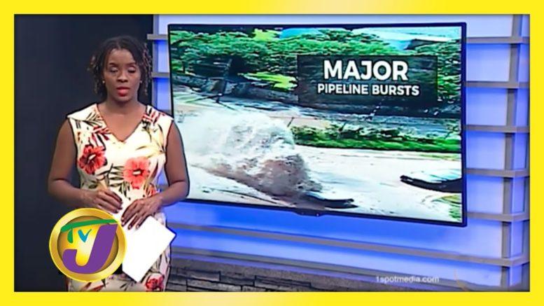 Major Pipeline Breaks Along Arthur Wint Drive - October 12 2020 1