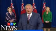 'COVID is unfair': Doug Ford responds to question on business closures 5