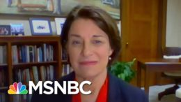 Klobuchar: Barrett Gave Trump A 'Clear Signal' About Her Stance On The ACA | The Last Word | MSNBC 6