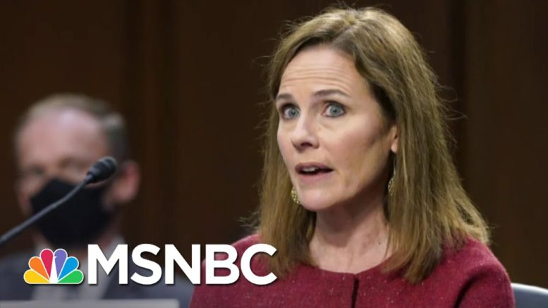Neal Katyal: Amy Coney Barrett Is Locked In By Trump's Own Statements | The 11th Hour | MSNBC 1
