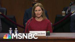 Fertility Doctors Raise Alarm About Amy Coney Barrett's Stance On IVF | Rachel Maddow | MSNBC 4
