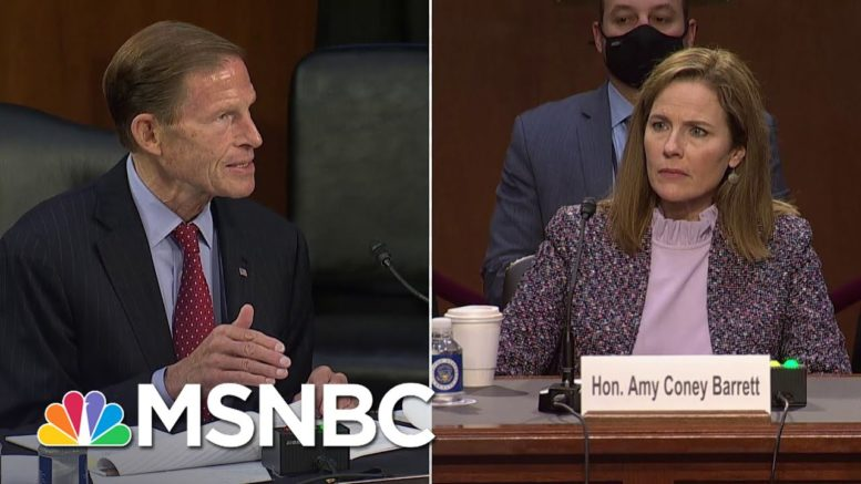 Barrett On Courts Deciding Elections: 'The Supreme Court Doesn't Cast Ballots' | MSNBC 1