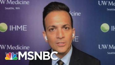 White House Embraces Herd Immunity Despite High Death Toll Projections | Deadline | MSNBC 6