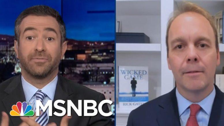 See Convicted Trump Aide Plead For Post-Election Trump Pardon On TV | MSNBC 1