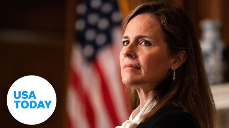 Confirmation hearing for Supreme Court nominee Judge Amy Coney Barrett: Day 3    USA TODAY 1