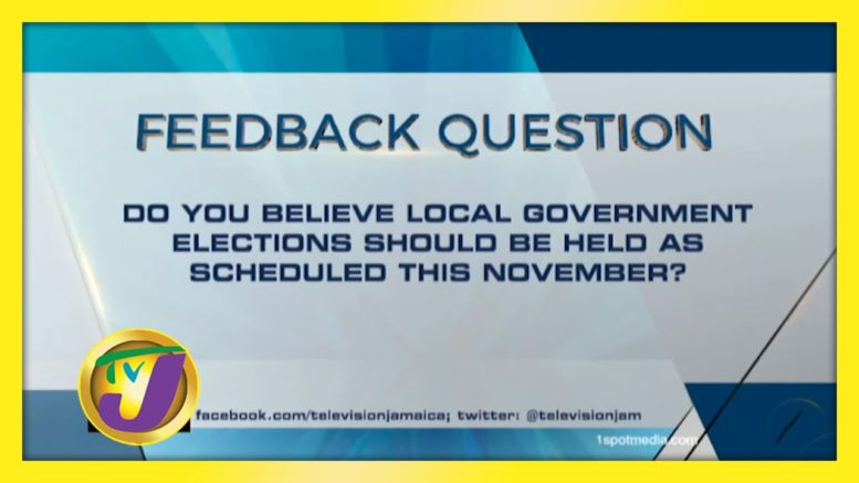TVJ News: Feedback Question - October 13 2020 1
