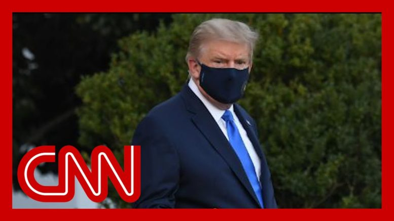 Trump leaves White House for Covid-19 treatment at hospital 1