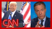 Jake Tapper issues warning before playing Trump rally remark 2