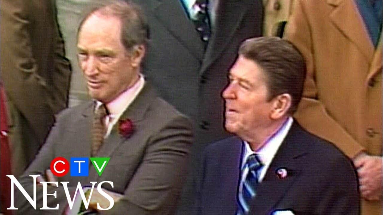 Archive: U.S. president Ronald Reagan's 1981 trip to Canada 8