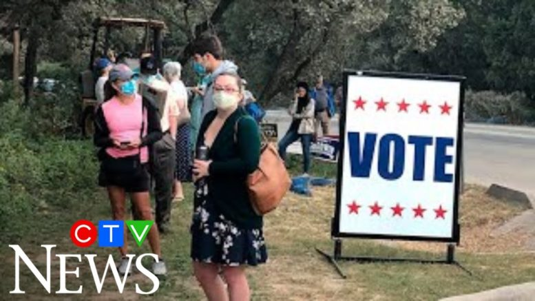 Early voter turnout breaking records as election weeks away 1