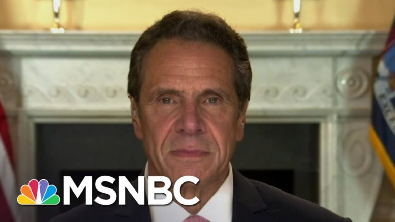 Gov. Cuomo: Trump Admin. 'No Better Prepared, Learned Nothing' From Pandemic | The Last Word | MSNBC 1