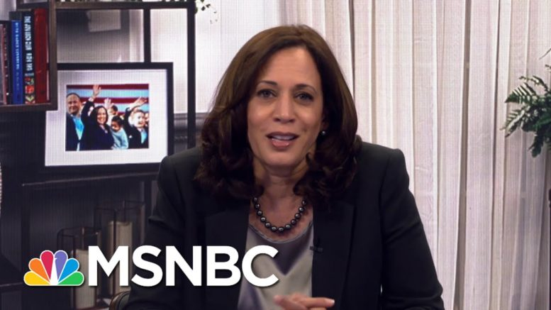Harris: Our Democracy Is As Strong As The American People's Willingness To Fight For It | MSNBC 1