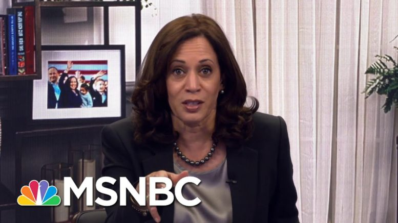 Harris: 'When We Take Back The Senate And Win The Majority, We Will Have A Lot To Do.' | MSNBC 1